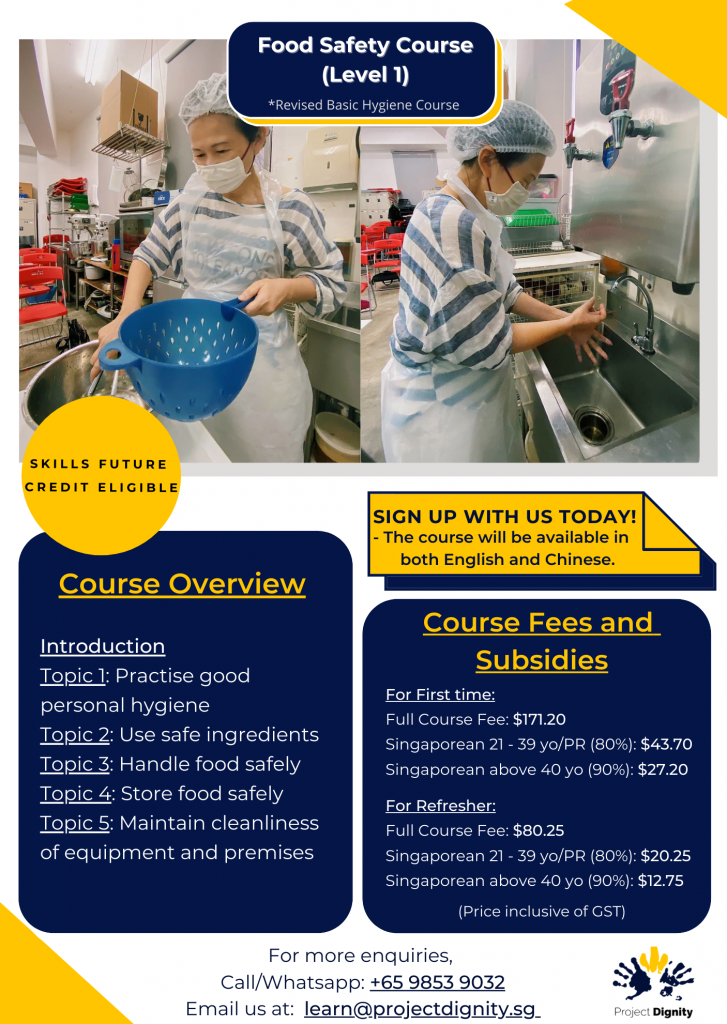 Food Safety Course (Level 1)